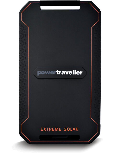 Powertraveller Extreme Solar Charger Black